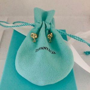 Tiffany gold earrings